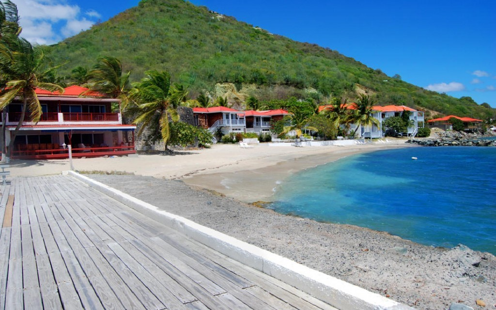 family resorts in the british virgin islands - fort recovery beachfront villas and suites