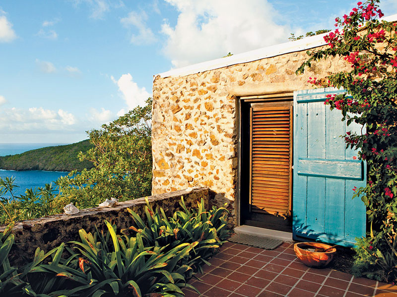 family resorts in the british virgin islands - guana island