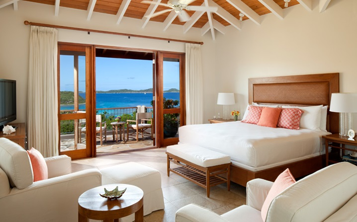 family resorts in the british virgin islands - rosewood little dix bay