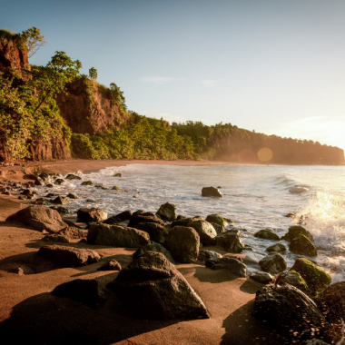 Brilliant Black Sand Beaches in the Caribbean - Foodica