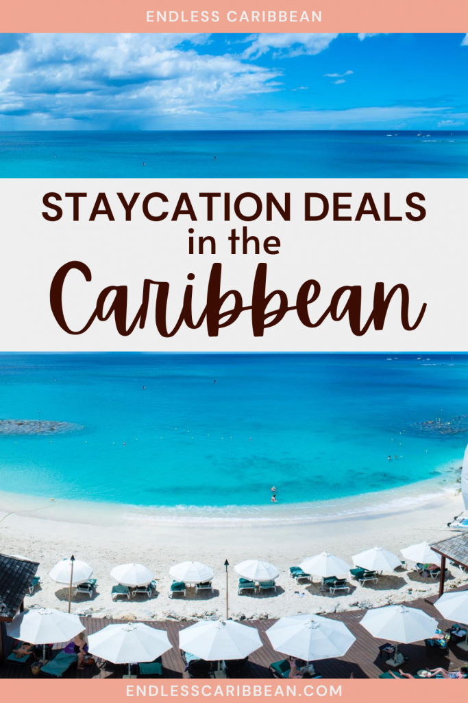 Pinterest Blog Pin Amazing Staycation Deals in the Caribbean