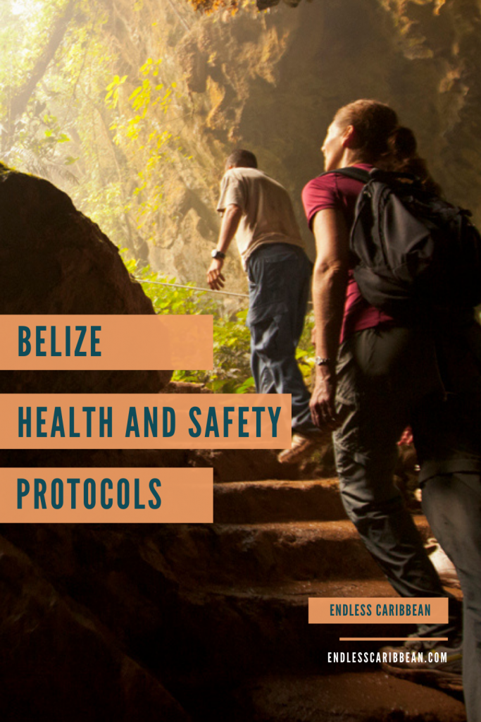 Pinterest Blog Pin Belize Health and Safety Protocols for Travellers