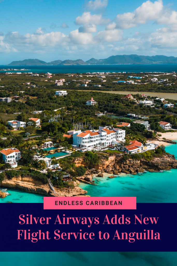 Pinterest Pin Silver Airways Adds New Flight Service to Anguilla