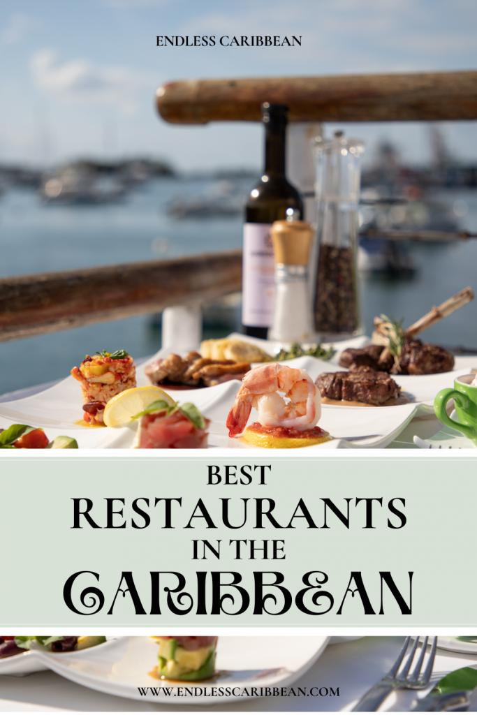 Pinterest Pin Best Restaurants in the Caribbean