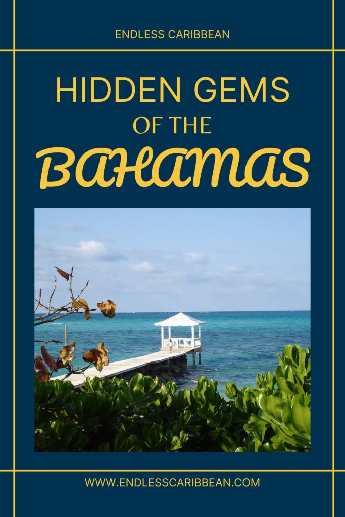 Pinterest Blog Pin Hidden Gems of the Bahamas